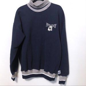 Vintage Penn State turtleneck sweatshirt